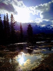 Heaven's Doorway ... (Mr. Happy Face - Peace :)) Tags: glow art2018 scenery pretty nature wilderness canadaparks cans2s rockymountains yyc banff canada