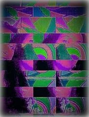 Uncertain! (ColFineArtistMar1) Tags: art artist artistic arte bright colors contemporary distortion design expressive florida hues inspiration manipulation original photograph perspective textures usa visual woman
