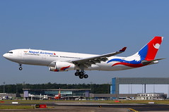 Nepal Airlines Airbus A330-243 9N-ALZ (Manuel Negrerie) Tags: nepalairlines airbus a330243 9nalz jetliner airliner 9n toulouseblagnac spotting flight runway testflight livery fwwyn canon plane aviation transport travel airport aib tls avion rollsroyce ge
