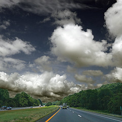 Route 66 (pom'.) Tags: panasonicdmctz101 july 2018 forest virginia roadpicture roadtrip sky clouds eagle eagles highway road usa unitedstatesofamerica fromamovingvehicle 100 route66 interstate66 shenandoahfreeway i66 200 300 northamerica america 400 americanwayoflife