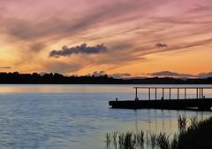Lough Erne. (carolinejohnston2) Tags: fermanagh northernireland summer outdoors dusk devenish lake shore
