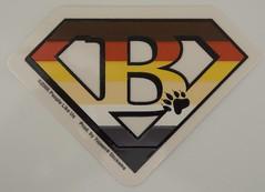 Stickers for the car (CubOz) Tags: bear car sticker decal bearpride bearflag