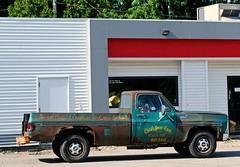 1973 Chevy Pickup (Cragin Spring) Tags: wisconsin wi midwest unitedstates usa unitedstatesofamerica foxlake truck pickuptruck pickup chevrolet 1970s 1973 chevypickup rusty rust foxlakewi foxlakewisconsin
