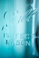 Ball Jar-1 (ABritDaneYankee) Tags: jar mason ball blue micro d3100
