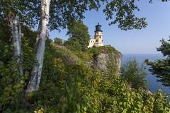 Split Rock Lighthouse, Silver Bay, Minnesota (Lucie Maru) Tags: lighthouse splitrock minnesota north silverbay water northshore lakesuperior