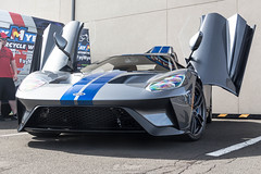 Open (Hunter J. G. Frim Photography) Tags: supercar colorado 2017 ford gt american gray silver stripes v6 turbo fordgt 2017fordgt hypercar