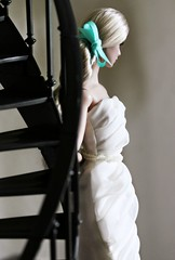 A-Z Challenge 2.0: S - Spiral (Bogostick) Tags: spiralstaircase dollphotography toyphotography dollportrait bridal playscale 16