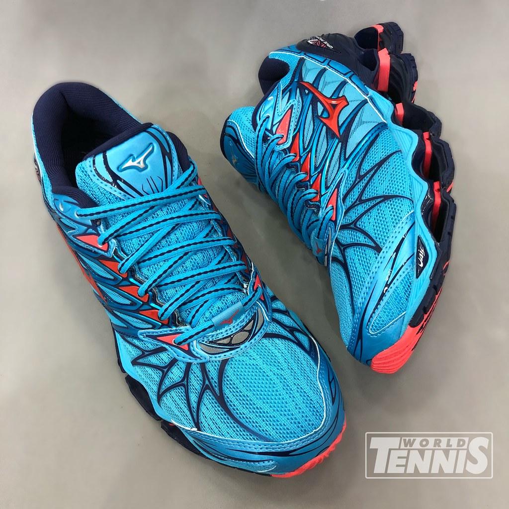 81fa7709799b6 Mizuno Wave Prophecy 7 Feminino Azul (World Tennis) Tags: mizuno prophecy  running corrida