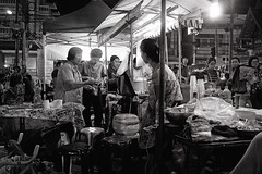 (a└3 X) Tags: street alexfenzl black withe blackwithe olympus streetphoto people person blackandwithe monochrome streetphotography bw 3x city citylife urban menschen a└3x thailand chiangmai