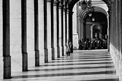 710_8475z1 (A. Neto) Tags: sigmadc18250macrohsmos sigma nikond7100 nikon d7100 blackwhite bw monochrome architecture people street shadows columns lisbon lisboa portugal