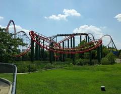 Kings Dominion - Anaconda (Stabbur's Master) Tags: amusementpark themepark rollercoaster steelrollercoaster anaconda anacondarollercoaster kingsdominion virginia kings dominion roller coaster