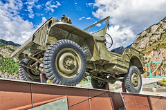 Willis. monument to the builders of the Chui tract (Dmitry Karyshev) Tags: war army military armedforces weapon landvehicle gun camouflage machinery conflict transportation power artillery car outdoors wheel history aggression everypixel willis chuisky russia karyshev 5dmiv canon2470mmf28liiusm