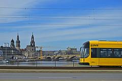 Bombardier NGTD12DD #2804 DVB Dresden Drezno (3x105Na) Tags: bombardier ngtd12dd 2804 dvb dresden drezno deutschland germany niemcy sachsen saksonia strassenbahn strasenbahn tram tramwaj