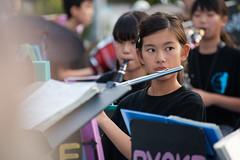 wind orchestra girl #6 (kasa51) Tags: schoolgirl windorchestra summerfestival portrait ブラバン少女 people street