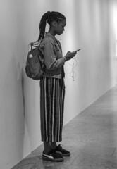 D7K_2486_epgs (Eric.Parker) Tags: newyork nyc ny bigapple usa manhattan 2017 met schoolkids bw