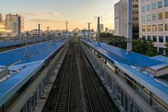 구로역 1,2번 승강장과 전철 철도 선로 (TFurban) Tags: 서울특별시 대한민국 승강장 플랫폼 기차역 철도역 platform ホーム