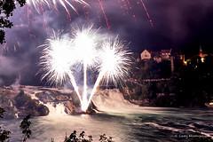 Schaffhausen CH (camy_wissinger) Tags: schaffhausench fireworks feuerwerk schweiz rheinfall