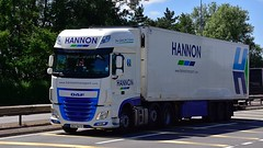 BGZ 9473 (Martin's Online Photography) Tags: daf xf truck wagon lorry vehicle freight haulage commercial transport a580 leigh lancashire nikon nikond7200 ireland hannon