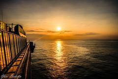 Sunset from Norwegian Jade (Yuri Dedulin) Tags: 2018 atlantic beautiful clouds colors dramatic eu europe history lacoruna landscape night north ocean spain sun sunset travel water yuridedulin tourism yuri dedulin norwegian jade ncl ship cruise