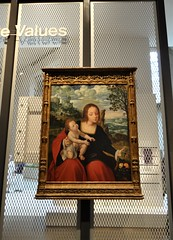 Madonna of the Mesh - The Met (battyward) Tags: met themet art museum medieval heavenly bodies fashion imagination catholic nyc