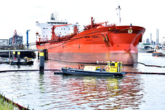 BOW JUBAIL OIL SPILL (dv-hans) Tags: bowjubail oilspillresponseteam chemicaltanker hebo hein trailingsuctionhopperdredger botlek pollution oilspill lbc jetty tshd thirdpetroleumharbor