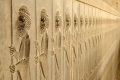 DSC08592 (Dirk Rosseel) Tags: persepolis iran shiraz persia persian iranian darius xerxes cyrus basreliefs warriors
