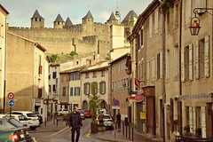 Carcassonne (kadege59) Tags: carcassonne france frankreich historic history europe city nikond3300 nikon cityscape oldtown streetview