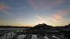 Torquay Sunset (Hoovering_crompton) Tags: torquay harbour sunset sun sky whispy cloud boats sea town lights nikon d3300 devon england english riviera long exposure landscape townscape