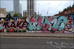 Make / Thyme (Alex Ellison) Tags: make time osv eastlondon urban graffiti graff boobs