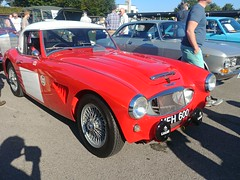 Austin Healey 3000 1959, Classic Car Sunday, Goodwood Breakfast Club (f1jherbert) Tags: lgg6 lgelectronicslgh870 lgelectronics lg g6 lgh870 electronics h870 goodwoodbreakfastclub classic car goodwood breakfast club