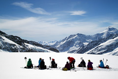 Aletsch (Magryciak) Tags: 2018 jungfrau grindelwald glacier snow ice switzerland travel trip view europe vacation holiday walk altitude alps mountains ski canon eos