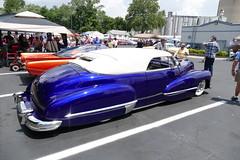 Cadillac Kustom (bballchico) Tags: cadillac custom kustom carsontop chopped customcarrevival indianapolisindiana carshow