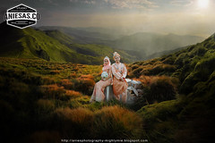 from johor with loves 2... (aniesphotography) Tags: prewedding bride groom malaywedding couples fashion people malayphotographer outdoor loves couple wedding