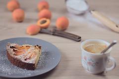 Sablé Breton aux abricots (Aby Images) Tags: canon eos 100d 50mm patisserie cake soft home bretagne britanny finistère café coffee fruits pastry