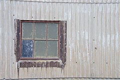 Bay View (sswj) Tags: window view basyview corrugated weathered oldwindow fortbaker sausalito marincounty northerncalifornia weatheredbuilding dslr fullframe composition nikon d600 nikkor28300mm scottjohnson sanfranciscobayarea architecturaldetail abstractreality availablelight naturallight existinglight