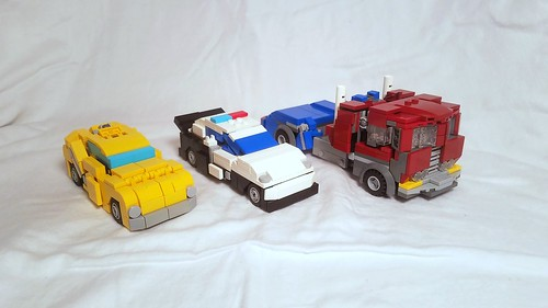 Lego Transformers G1 Bumblebee With Instructions A Photo On