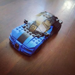 Lego Speed Champions Bugatti Chiron 8 stud wide (1) (Parm Brick) Tags: lego speed champions bugatti chiron vehicle super car moc mod afol 8studwide