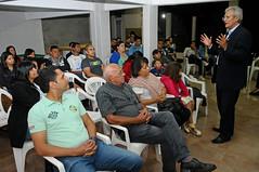17/08/2018 Reunião com amigos e familiares do Valfredo em Vicente Pires