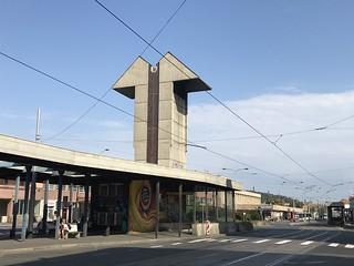 sozialistischer Brutalismus in Prag