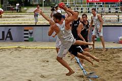 IMGP8500 (Copy) (gaalzoltan8) Tags: handball beach ebt2018 salgótarján match attack jump