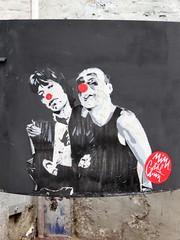 Mimi the clown / Lille - 29 jul 2018 (Ferdinand 'Ferre' Feys) Tags: lille france streetart artdelarue graffitiart graffiti graff urbanart urbanarte arteurbano ferdinandfeys pasteup wheatpaste