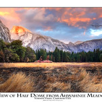 The View of Half Dome from Ahwahnee Meadow thumbnail