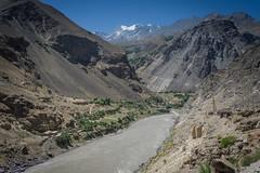 Along the Panj and Afghan border