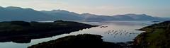 Ecosse 2018 - Panorama sur le Loch Laich (guillaume lefebvre) Tags: mavicpro dji drone coucherdesoleil laich loch scotland ecosse