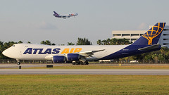 N854GT | Boeing 747-87UF | Atlas Air (cv880m) Tags: miami florida mia kmia aviation airliner airline aircraft jetliner airplane n854gt boeing 747 74h 7478 7478f 74f 74787uf atlas atlasair giant jumbo freighter freight cargo aircargo