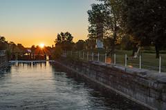 Summer Glow (Kevin Tataryn) Tags: canal locks historic canada stlawrence sunrise summer early morning nikon d500 1755