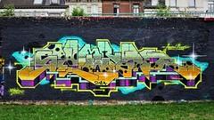 Sawer / Denderlaan - 20 aug 2018 (Ferdinand 'Ferre' Feys) Tags: gent ghent gand belgium belgique belgië streetart artdelarue graffitiart graffiti graff urbanart urbanarte arteurbano ferdinandfeys sawer aerosolkings
