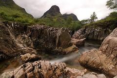 Valley // Glencoe (DerekSmith_93) Tags: glencoe scotland wanderlust mountains highlands visitscotland waterfall river misty landscape westhighlandway westscotland canon canonphotography summer motionblur