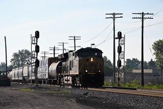 CSX 3338 at Fostoria, OH
