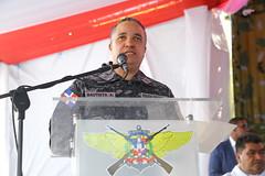 Gobierno refuerza seguridad territorial y control migratorio; entrega Puesto de Chequeo Fuerza Tarea Conjunta e Interagencial Los Pilones (PresidenciaRD) Tags: